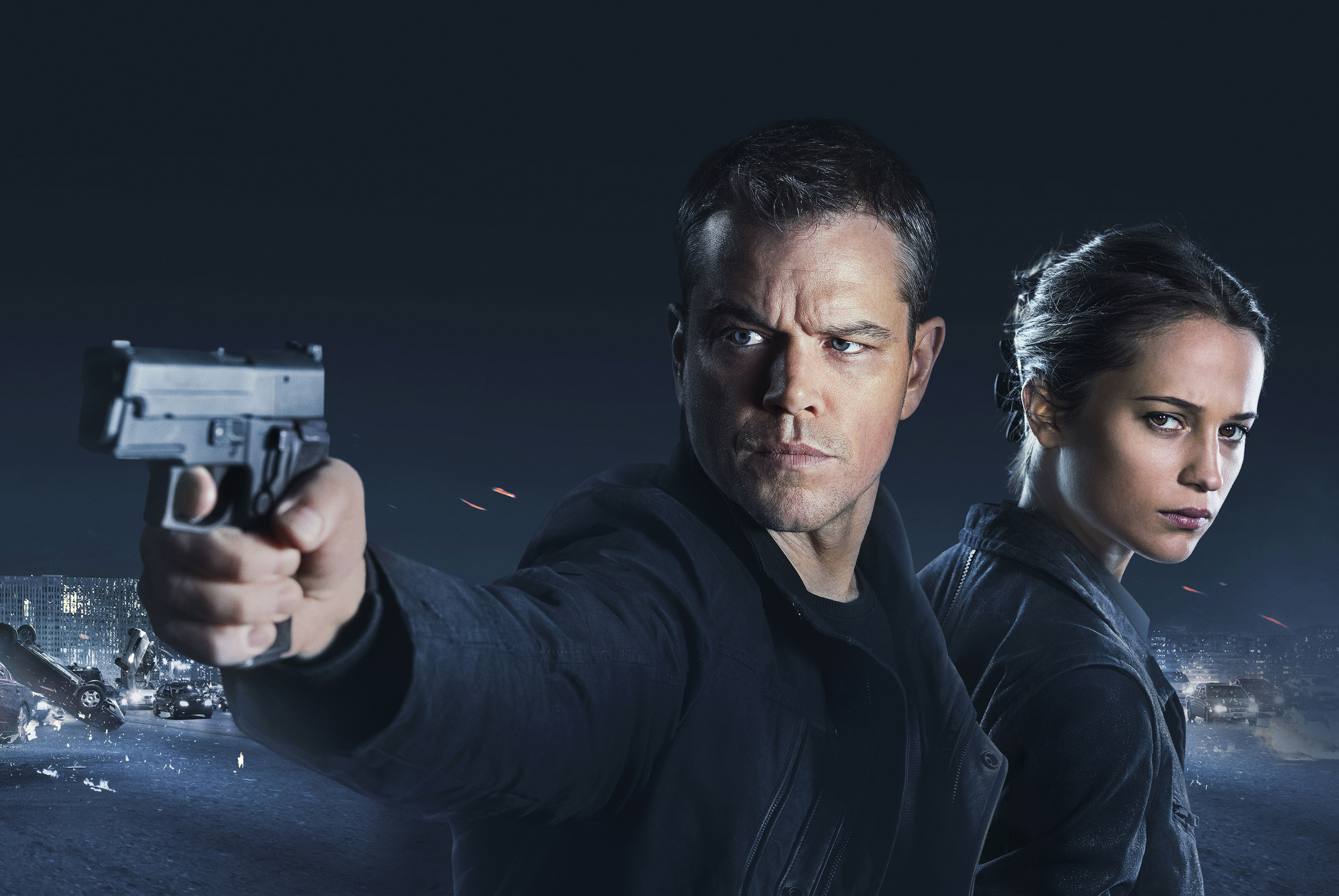 Jason Bourne Official Movie Poster Wallpaper
