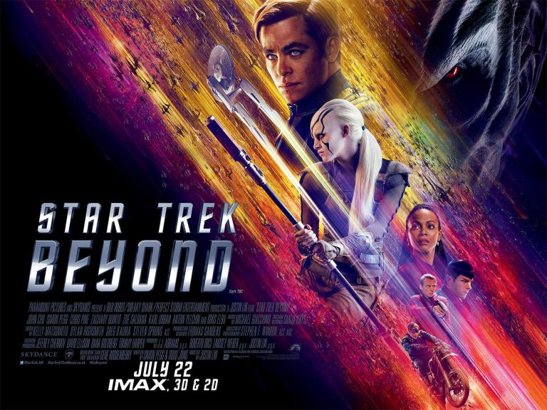 Star Trek: Beyond Official Movie Poster