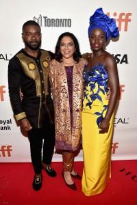 David Oyelowo, Mira Nair and Lupita Nyong'o Queen of Katwe Toronto International Film Festival Premiere