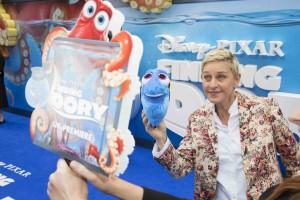 Ellen DeGeneres Finding Dory European Film Premiere London