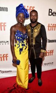 Lupita Nyong'o and David Oyelowo Queen of Katwe Toronto International Film Festival Premiere