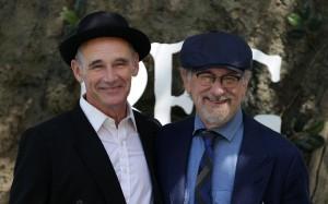 Mark Rylance and Steven Spielberg The BFG London Film Premiere
