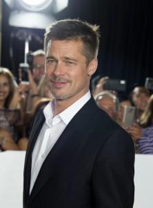 Brad Pitt Allied Hollywood Los Angeles Premiere Fan Event