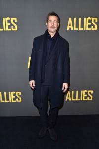 Brad Pitt Allied Paris Premiere