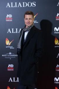 Brad Pitt Allied Madrid Premiere Spain