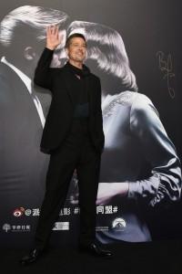 Brad Pitt Allied Shanghai Premiere Press Conference Event