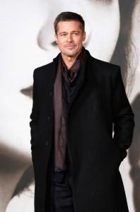 Brad Pitt Allied UK Film Premiere Leicester Square London