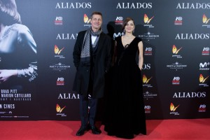 Brad Pitt and Marion Cotillard Allied Madrid Premiere Spain