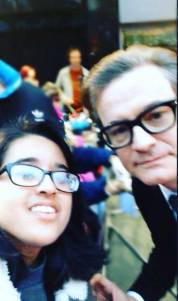 Colin Firth meets fans