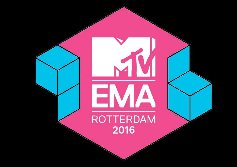 MTV Europe Music Awards 2016 Logo EMAs Rotterdam