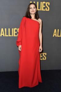 Marion Cotillard Allied Paris Premiere