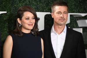 Marion Cotillard and Brad Pitt Allied Hollywood Los Angeles Premiere Fan Event