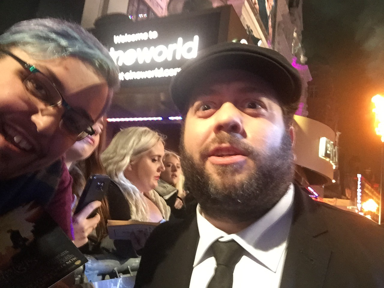 Dan Fogler London premiere of Fantastic Beasts and Where to find them