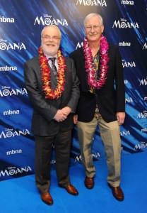 Ron Clements and John Musker Moana UK Gala Screening London Premiere