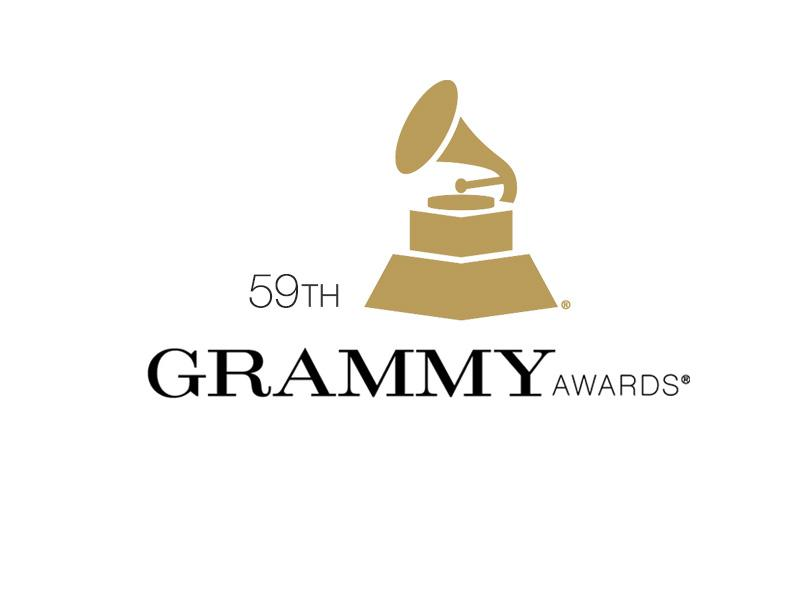 59th Grammy Awards logo 2017 Grammys Nominations and Winners List Red Carpet
