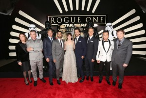 Cast and Filmmakers Rogue One: A Star Wars Story World Premiere