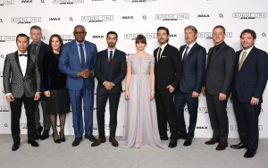 Cast and filmmakers of Rogue One: A Star Wars Story London Film Screening Event Premiere