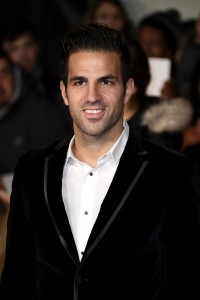 Cesc Fabregas I Am Bolt World Premiere London Leicester Square