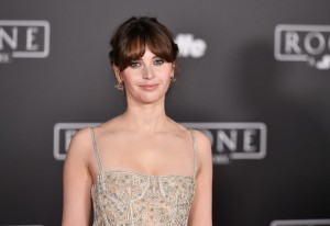 Felicity Jones Rogue One: A Star Wars Story World Premiere