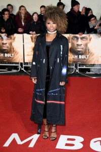 Fleur East I Am Bolt World Premiere London Leicester Square