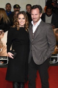 Geri Halliwell and Christian Horner I Am Bolt World Premiere London Leicester Square