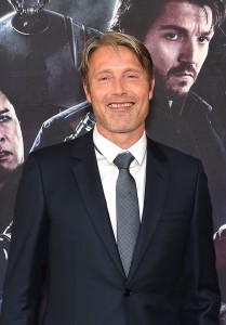 Mads Mikkelsen Rogue One: A Star Wars Story London Film Premiere Special Screening