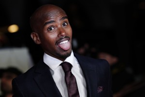 Mo Farah I Am Bolt World Premiere London Leicester Square