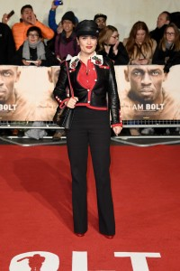 Salma Hayek I Am Bolt World Premiere London Leicester Square