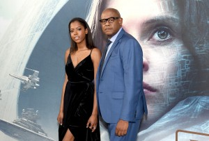 True and Forest Whitaker Rogue One: A Star Wars Story London Film Premiere Special Screening