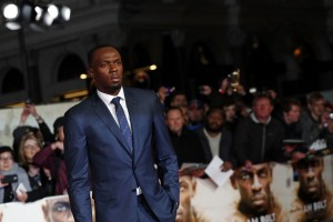 Usain Bolt I Am Bolt World Premiere London Leicester Square