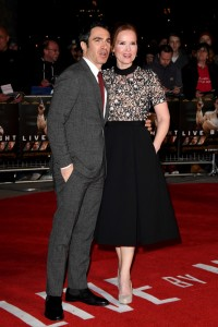 Chris Messina and Jennifer Todd Warner Bros. Live By Night UK Film Premiere BFI Southbank London European