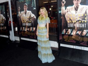 Sienna Miller Warner Bros Live By Night Hollywood Premiere Los Angeles