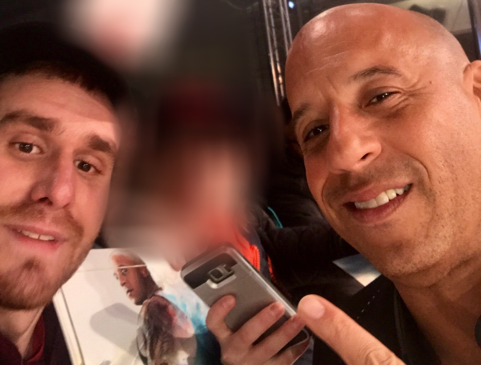 Vin Diesel fans xxx return of Xander cage London film premiere