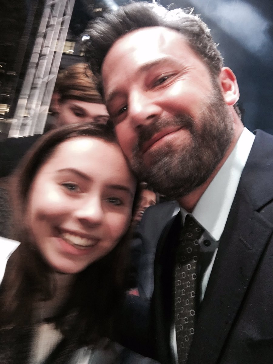 Ben Affleck The Accountant Premiere