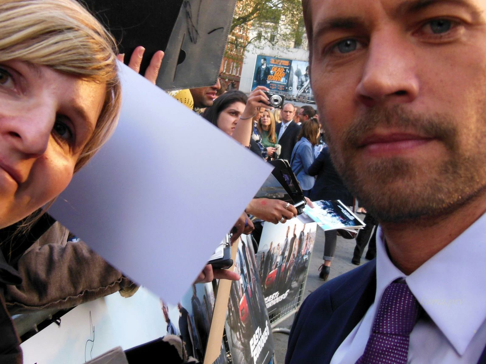 Paul Walker Fast and Furious 6 Premiere