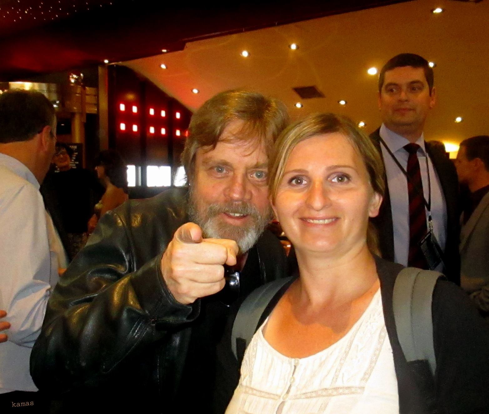 Mark Hamill Guardians of the Galaxy Premiere