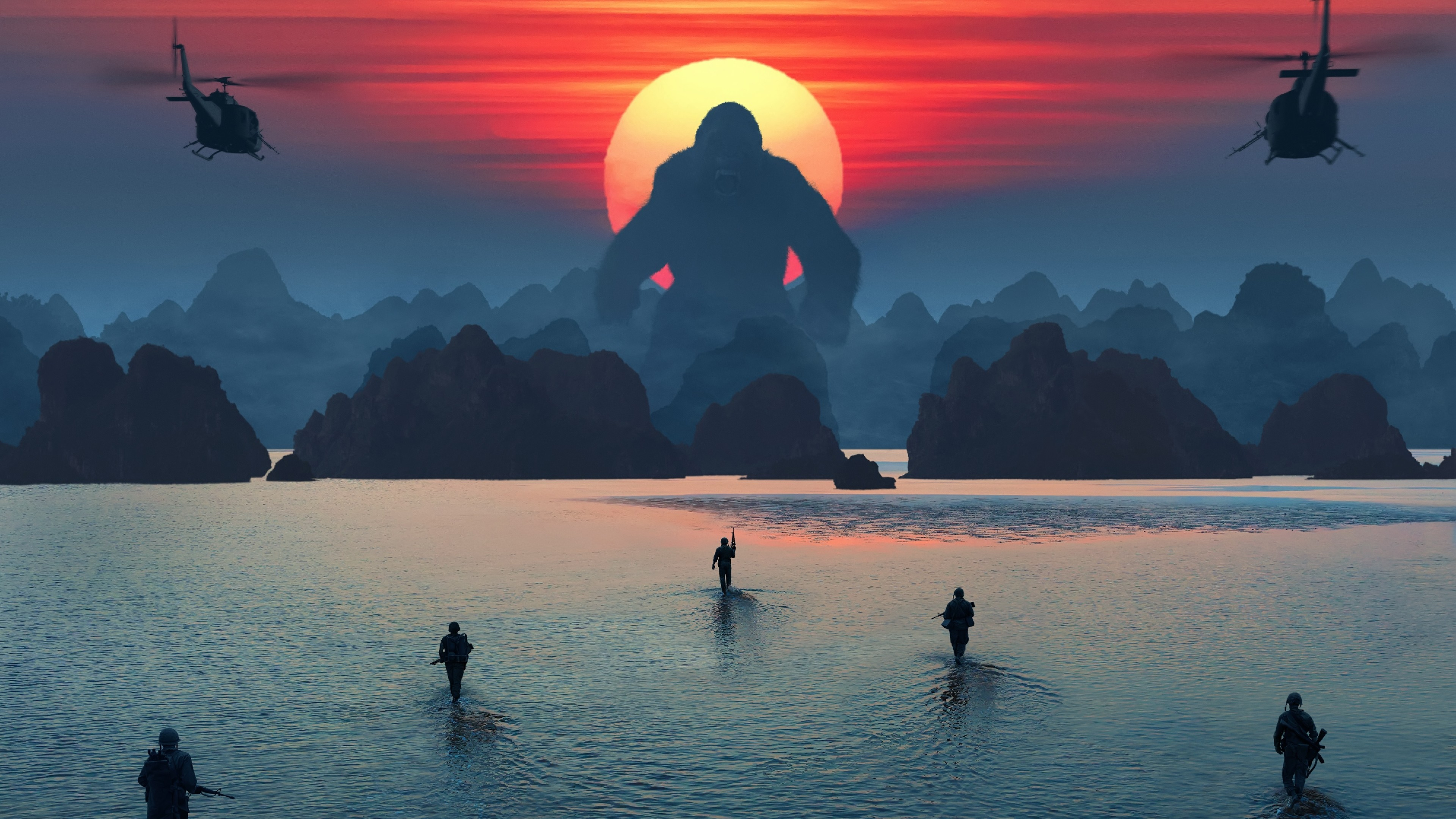Kong: Skull Island Official Movie Poster