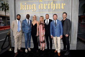 Cast and Director of King Arthur: Legend of the Sword Los Angeles Film Premiere
