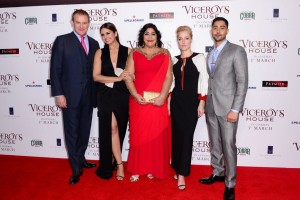 Cast and Director of Viceroy's House London Premiere