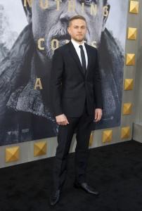 Charlie Hunnam King Arthur: Legend of the Sword Los Angeles Premiere