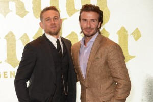 Charlie Hunnam and David Beckham