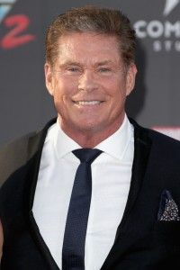 David Hasselhoff Marvel Disney Guardians of the Galaxy Vol. 2 Los Angeles World Premiere