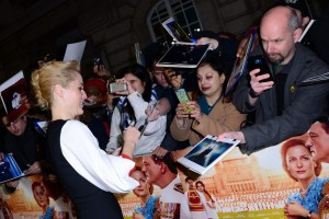 Gillian Anderson Viceroy's House London Film Premiere