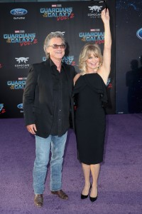 Kurt Russell and Goldie Hawn Marvel Disney Guardians of the Galaxy Vol. 2 Los Angeles World Premiere