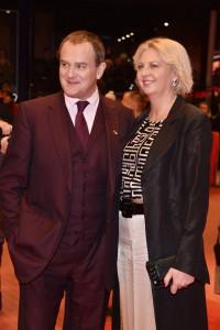 Hugh Bonneville and Lulu Williams Viceroy's House Berlin International Film Festival Premiere