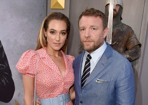 Jacqui Ainsley and Guy Ritchie King Arthur: Legend of the Sword Los Angeles Premiere