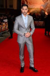 Manish Dayal Viceroy's House London Film Premiere