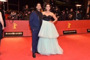 Manish Dayal and Huma Qureshi Viceroy's House Berlin International Film Festival Premiere