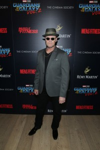 Michael Rooker Disney Marvel Guardians of the Galaxy Vol. 2 New York City Screening Premiere