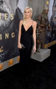 Poppy Delevingne King Arthur: Legend of the Sword Los Angeles Premiere